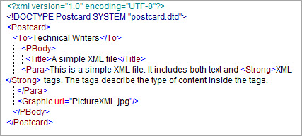 Sample XML