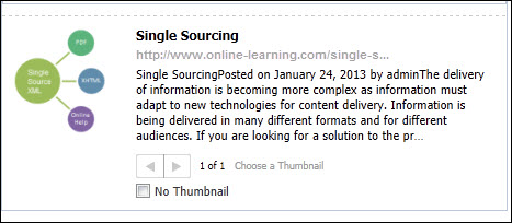 Wordpress-Facebook-Problem